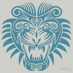 'Tattoo Tiger - Year of the Tiger' T-Shirt by zomboy Year Of The Tiger, Tiger Year, Tattoo You, Back Tattoo, Animal Symbolism, Ink Master, Tiger T Shirt, Tiger Tattoo, Cool Tattoos