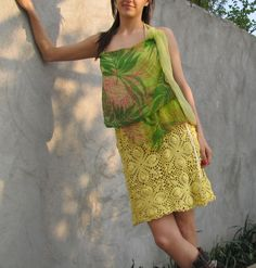 Spring Summer Dress ...S ... M ... L ... by kovale on Etsy