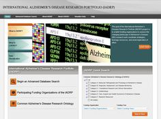 The International Alzheimer's Disease Research Portfolio (IADRP) database brings together funded research supported by public and private organizations both in the US and abroad all categorized using the Common Alzheimer's Disease Research Ontology or CADRO. Also read: http://www.nia.nih.gov/research/dn/international-alzheimers-disease-research-portfolio  #Alzheimersdisease #Alzheimers #AD