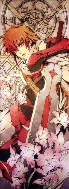 """Kasai ist ein schwuler Junge, der sich in einen Drachen verwandeln kann. Kasai bedeutet Feuer, was eigentlich damit zu tun hat, dass Kasai ein Feuerdrache ist, doch er bezieht es sehr gerne darauf, dass er """"heiß"""" ist. Er flirtet sehr gerne und ist meistens sehr frech. Außerdem ist er der Bassist einer Band."""