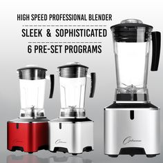 Introducing The Optimum G2.1 Platinum Series Blender