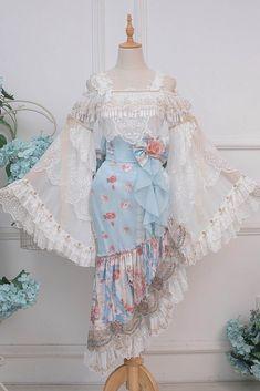 Kawaii Fashion, Lolita Fashion, Cute Fashion, 80s Fashion, Womens Fashion, Pretty Outfits, Pretty Dresses, Beautiful Dresses, Mini Dresses