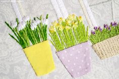 """Applique and embroidery - Made by LaFleur: Совместный проект """"Весна"""" / A Spring SAL"""