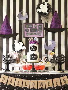 ハロウィン・アイディアリレー「カワイイ魔女のHalloween Party」 |by Anniversary Planner School