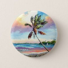 Sailing the Tropics Button