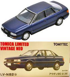 TOMY TOMICA LIMITED VINTAGE NEO LV-N82b Audi 90 2.0E Europe 1:64 Blue | eBay