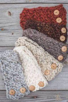knit headbands - Google Search