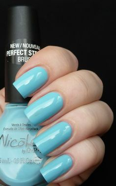 "Nicole By OPI Justin Bieber One Less Lonely Girl Collection 2011 ~ ""Baby"" Blue"