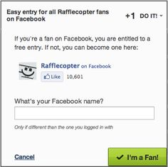 Facebook Giveaway / Contest Rules and Regulations explained with Rafflecopter