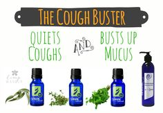 The wet cough buster!  It helps clear out al the mucus and stops the cough.  ingredients: 10 drops Eucalyptus, 5 drops Thyme, 5 drops Peppermint, and Fractionated Coconut Oil.   www.onedoterracommunity.com   https://www.facebook.com/#!/OneDoterraCommunity