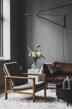 Discover the Work of Norwegian Design Studio Heem - Nordic Design Modern Room Decor, Stylish Home Decor, Living Room Interior, Living Room Decor, Townhouse Interior, Japanese Interior Design, Interior Inspiration, Interior Architecture, Living Room Designs