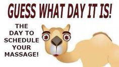 Guess what day it is Valentine Day Massage, Massage Therapy Humor, Massage Marketing, Massage Quotes, Massage Envy, Massage Business, Massage Benefits, Body Treatments, Reflexology