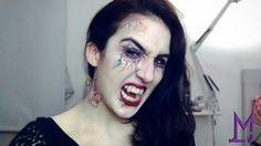 Maquillaje de vampiro  #vampire #makeup