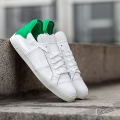 adidas Elastic Lace Up Pharrell Williams Ftw White/ Ftw White/ Green - Footshop