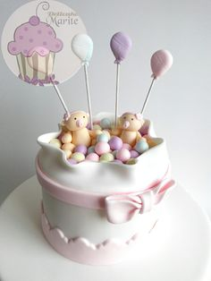 Torta para gemelas