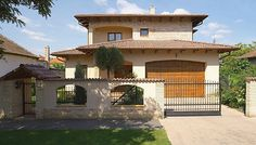 Design Case, Beautiful Homes, Pergola, Sweet Home, Exterior, Outdoor Structures, House Design, Mansions, House Styles