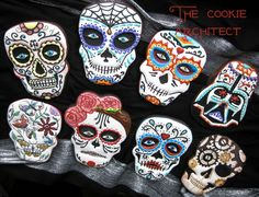 Sugar Skulls by The Cookie Architect