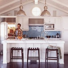 Get Sophisticated Surfer Style | Add a Splash of Color | CoastalLiving.com