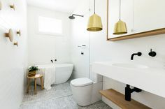 The next big thing for bathrooms is to incorporate warm metal fixtures. From brass and gold to cooper and bronze, you're sure to find plenty of ideas to...