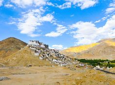 Chemrey, a Tibetan monastery from the 17th century, Ladakh, India #india #ladakh #tibetan #monastery #tibet