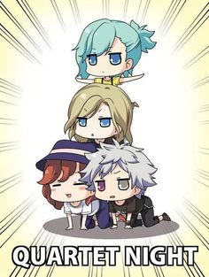 Chibi Quartet Night
