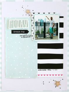 Today | Scrapbooking Layout |Felicity Jane Januar KitOoh NYC, You are my fave |Scrapbooking Layout