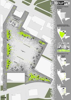 Honorable MentionUrban - architectural competition for the public square in Kutina/with M. Paun, I. Senjak/