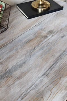 how to create a weathered wood gray finish #paintingfurniture