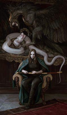 mrazь by Maria Zolotukhina_Reasonable Fantasy Dark Fantasy Art, Fantasy Artwork, Fantasy Kunst, Dark Art, Anime Fantasy, Art And Illustration, Illustrations, Art Inspo, Kunst Inspo