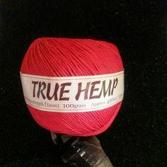 Red hemp #hempjewlz #hemp #jewelry #coloredhemp #red