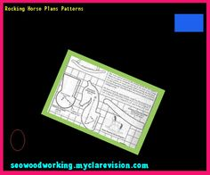 Rocking Horse Plans Patterns 141247 - Woodworking Plans and Projects!