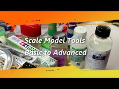 Scale Model Tools Basic to Advanced - YouTube