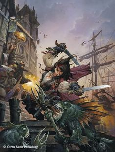 Freeport - City of Adventure RPG by Wayne Reynolds