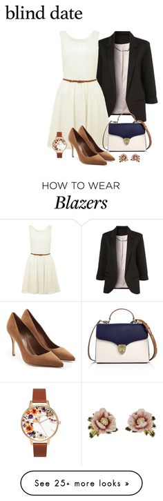 """""""Untitled #311"""" by rikacil on Polyvore featuring Yumi, Aspinal of London, Sergio Rossi, Les Néréides, Olivia Burton and blinddate"""