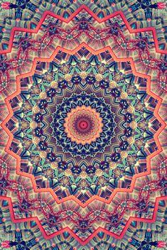 ❤~ Mandala ~❤  #psychédélique #trippy #lsd #champignonsmagiques #salvia @champignonsmagiques.fr