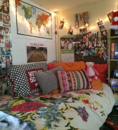 University of Arkansas ~ Yocum Hall Girls Dorm Room