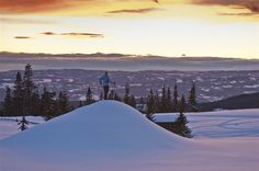 Cross-country skiing near Lillehammer -- Have you skied Norway?
