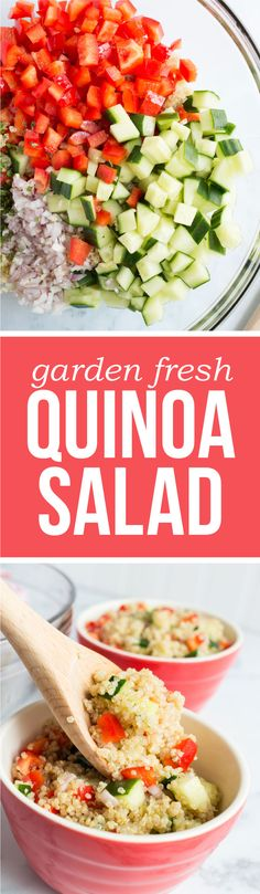 Garden Fresh Quinoa Salad: 155 calories | 4 SmartPoints