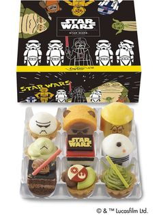 Japanese STAR WARS Desserts Are the Cutest Treats in the Galaxy   Nerdist