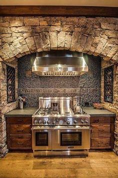 primitive kitchens,rustic kitchen decor,log home kitchens,log cabin kitchens,primitive log home cooking pits 00349 Küchen Design, Design Case, Design Ideas, Loft Design, Rustic Kitchen Design, Kitchen Decor, Kitchen Ideas, Country Kitchen, Country Homes