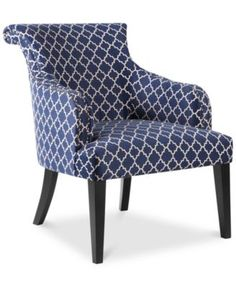 Kendall Fabric Accent Chair Quick Ship