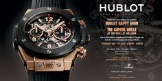 #Hublot #Invite #HappyHour #Event