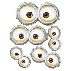 MINION Minion Movie Minion Eyes Instant by LittleDebsDownloads