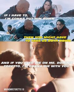 Dom and Letty! Letty Fast And Furious, Fast Furious Series, Furious Movie, Paul Walker Quotes, Paul Walker Movies, Rip Paul Walker, Love Friendship Quotes, Dom And Letty, Dominic Toretto
