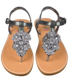 """Rachel """"Lena"""" Sandals: These are the ones. Should look great w/dress. Really hard to find toddler & girls shoes the same. Had to use JCP & Cookie Kids."""