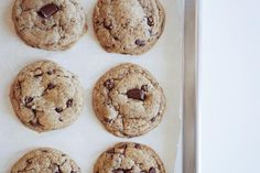 Food 52, Bagel, Chocolate Chip Cookies, Doughnut, Sweet Treats, Vanilla, Muffin, Spices, Butter