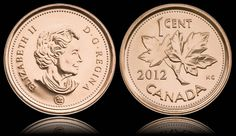 2012 marked the demise of the Canadian penny. The penny had been produced for… Canadian Penny, I Am Canadian, Canadian Coins, Canadian History, Old Coins, Rare Coins, All About Canada, Meanwhile In Canada, Valuable Coins