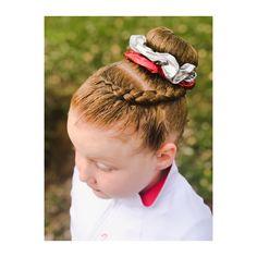 Braid into a bun. Black Girl Short Hairstyles, Gym Hairstyles, Braided Ponytail Hairstyles, Cute Girls Hairstyles, Everyday Hairstyles, Hairstyles For School, Gymnastics Hairstyles, Wedding Hairstyles, Updo Hairstyle