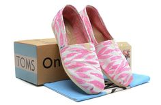 2014 New Arrival Toms Shoes Classis White Pink