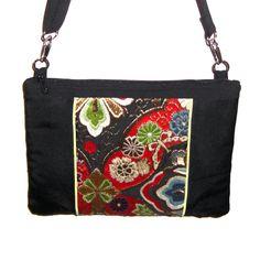 IPad bag...by SasakiBags. Recycled Japanese obi. LOVE!